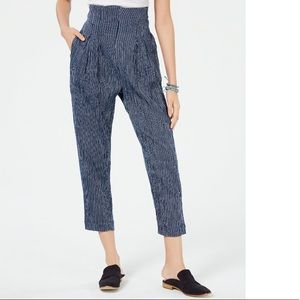 Free People See You Again Smocked Pants Sz:S